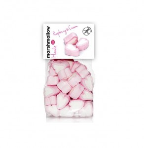 Fresh Marshmallow- Hearts 100g