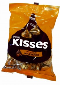 Hersheys's Kisses With Almond 150g