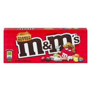 M&M's Peanut Butter  Box   85,1g